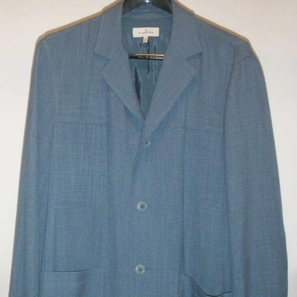 7958b084 Ermenegildo Zegna Vintage Linen Sports Jacket